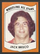 1982 Wrestling All Stars Series A and B Trading Cards Jack Brisco (No.7)
