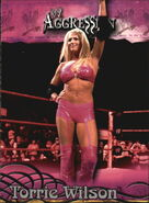2003 WWE Aggression Torrie Wilson 73