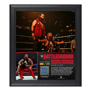Bray Wyatt Battleground 15 x 17 Framed Ring Canvas Photo Collage