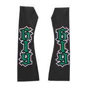 REY MYSTERIO BLACK GREEN ARM SLEEVES