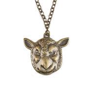 Wyatt Family Sheep Mask Pendant