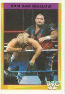 1995 WWF Wrestling Trading Cards (Merlin) Bam Bam Bigelow 167
