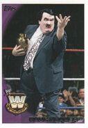 2010 WWE (Topps) Paul Bearer (No.102)