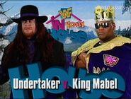 The Undertaker vs King Mabel