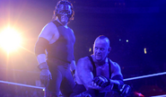 Undertaker and Kane pose