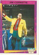 1995 WWF Wrestling Trading Cards (Merlin) Jim Cornette 72