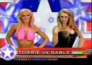 Torrie Wilson vs Sable