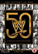 History of WWE dvd
