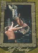 2002 WWF All Access (Fleer) Jeff Hardy 87