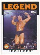 2016 WWE Heritage Wrestling Cards (Topps) Lex Luger 88