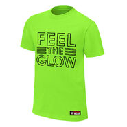 Naomi Feel The Glow Neon Authentic T-Shirt