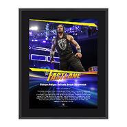 Roman Reigns FastLane 2017 10 X 13 Commemorative Photo Plaque