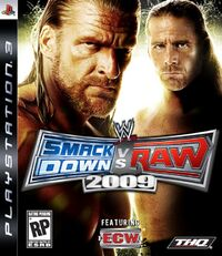 WWE SmackDown vs. Raw 2009のカバーアート