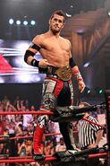 Shelley as IWGP Junior Heavyweight Tag Team Champion