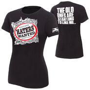 The Miz Haters Wanted Women's T-Shirt