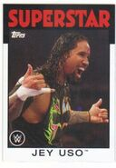 2016 WWE Heritage Wrestling Cards (Topps) Jey Uso 17