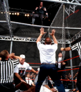 Mankind vs The Undertaker Hell in a Cell Match King of the Ring 1998 23