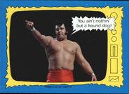 1987 WWF Wrestling Cards (Topps) Honky Tonk Man 73