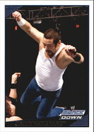 2009 WWE (Topps) Jimmy Wang Yang 64