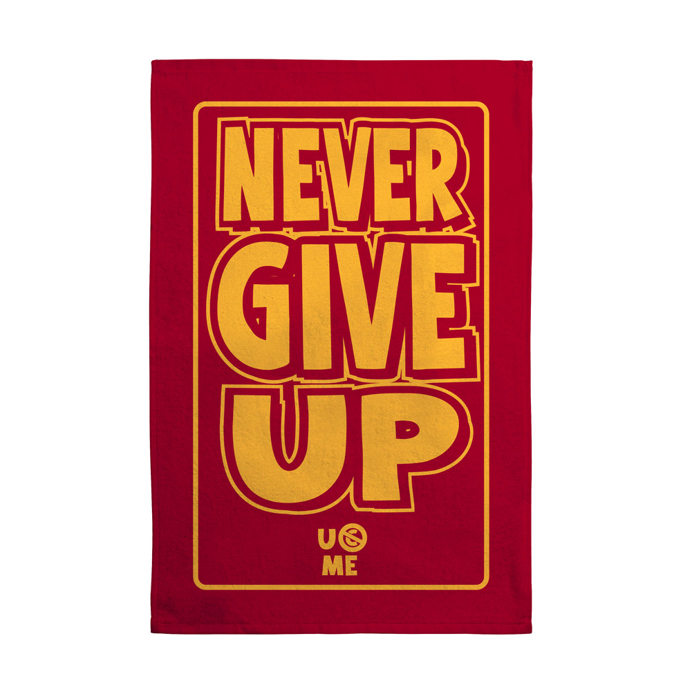 "John Cena ""U Can't C Me"" Rally Towel | Pro Wrestling ...  |John Cena Logo Never Give Up 2014"