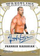 2016 Leaf Signature Series Wrestling Frankie Kazarian 27