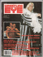 Wrestling Eye - January 1987