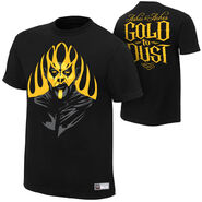 Goldust Ashes To Ashes Authentic T-Shirt