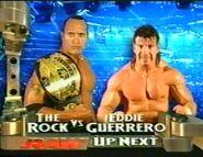 The Rock vs. Eddie Guerrero