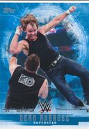 2017 WWE Undisputed Wrestling Cards (Topps) Dean Ambrose 12