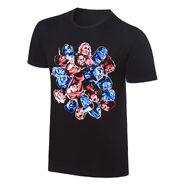 WWE Brand Extension Rob Schamberger Art Print T-Shirt