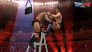 WWE SvR11-Jericho-Orton Laddder1