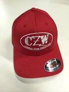 CZW Red Flex Fit Hat