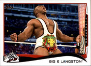 2014 WWE (Topps) Big E Langston 3