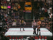 Royal Rumble 2000 Foley and Triple H square off