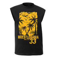 WrestleMania 33 Black Muscle Tee
