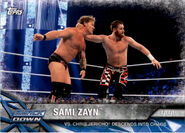 2017 WWE Road to WrestleMania Trading Cards (Topps) Sami Zayn 78