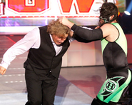 Hurricane attacking William Regal