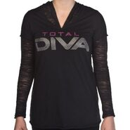 Total Diva Women's Burnout Sweatshirt