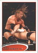 2012 WWE (Topps) Triple H 47