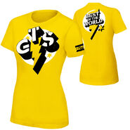 CM Punk GTS Women's Authentic T-Shirt