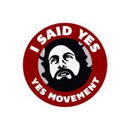 Daniel Bryan YES Movement Sticker