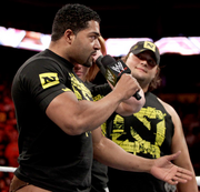 David Otunga with Husky Harris