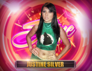 Justine Silver Shine Wrestling