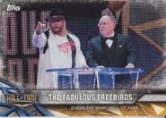 2017 WWE Road to WrestleMania Trading Cards (Topps) The Fabulous Freebirds 49