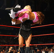 No Mercy 2007 Beth Phoenix vs Candice Michelle 003