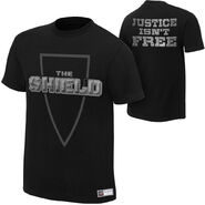 The Shield Justice Isn't Free T-Shirt