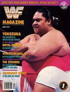 WWF Magazine April 1993