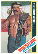 1985 Wrestling All Stars Trading Cards The Iron Sheik 5