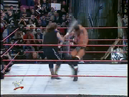 Royal Rumble 2000 HHH hit with Barbed Wire