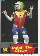 2012 WWE Heritage Trading Cards Doink The Clown 72